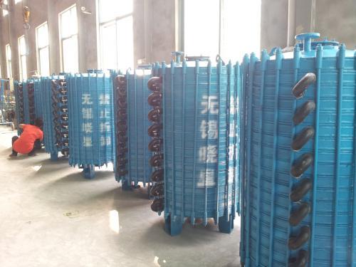 新型片式冷凝器 搪玻璃列管换热器 一般片式冷凝器区别介绍