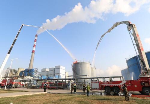 内蒙古通辽举行煤化工事故跨区域实战推演
