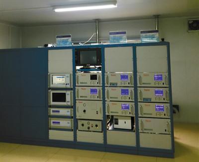 探秘四川成都大气监测站 多项仪表为空气做