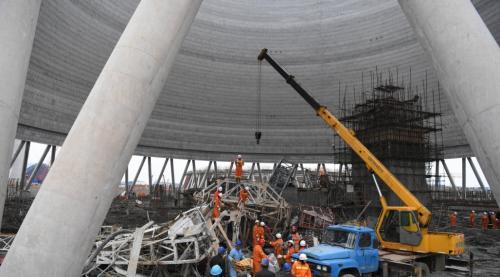 丰城电厂事故74人遇难 373人参加救援
