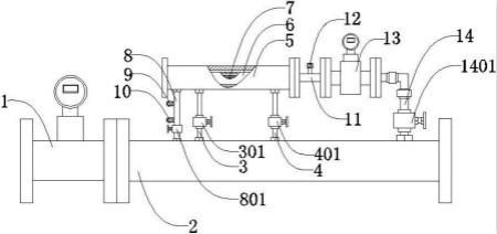 安徽中控仪表发明一种湿蒸汽流量计量装置