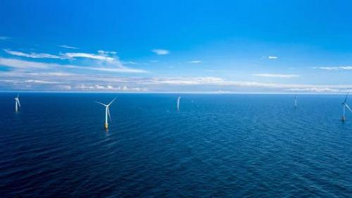 全球首个浮动式海上风电场开始发电
