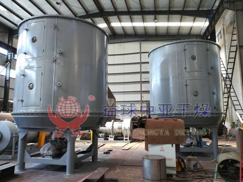 益球中亚干燥PLG2500/12型盘式连续干燥机发货现场图