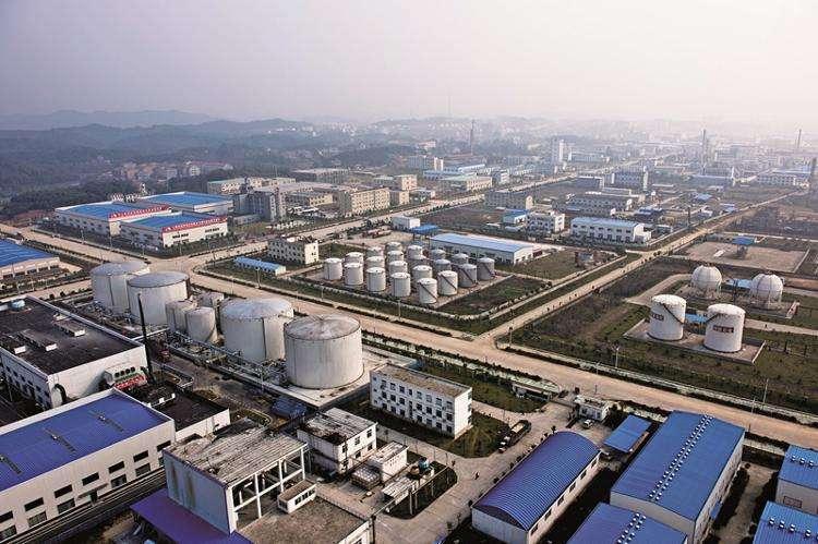 有名无实 湖南岳阳'绿色'化工产业园环保问题突出