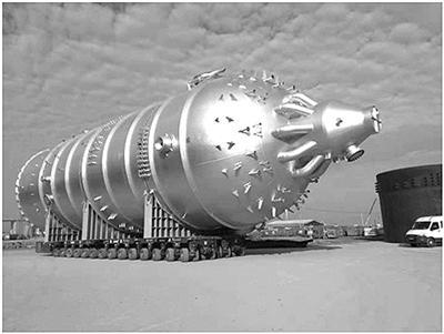 天华化工2台丙烯腈反应器顺利完成制造