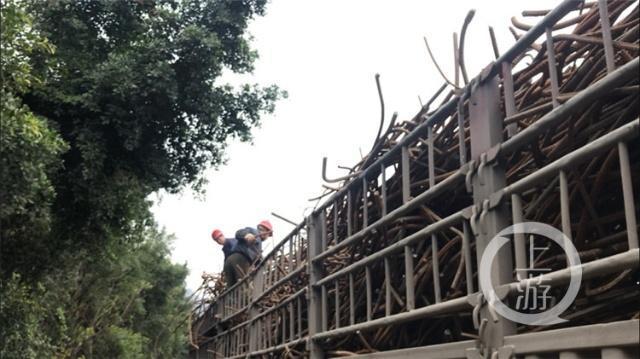 智汇万州 转型升级 18年化工老厂拆除