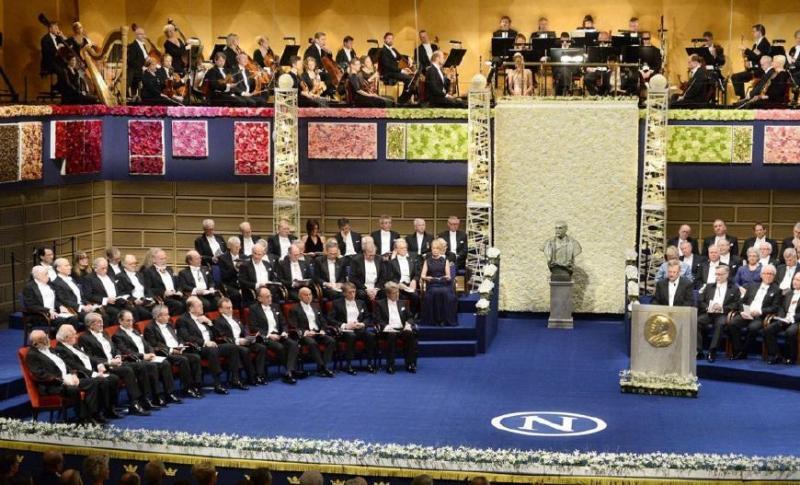 2018诺贝尔奖颁奖仪式在瑞典举行