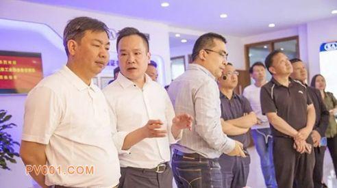 中国气协理事会成员走访三安制阀