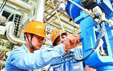 海南炼化2号芳烃项目多套装置陆续开始引入物料