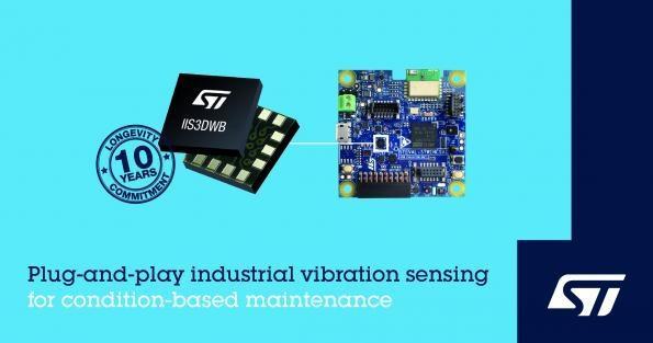 意法半导体推出工业监控用3轴MEMS加速度计