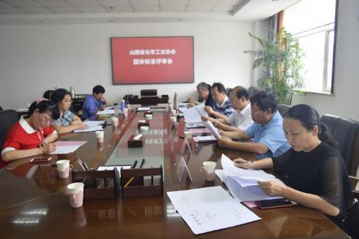 山西兩項化工類團體標準通過技術評審