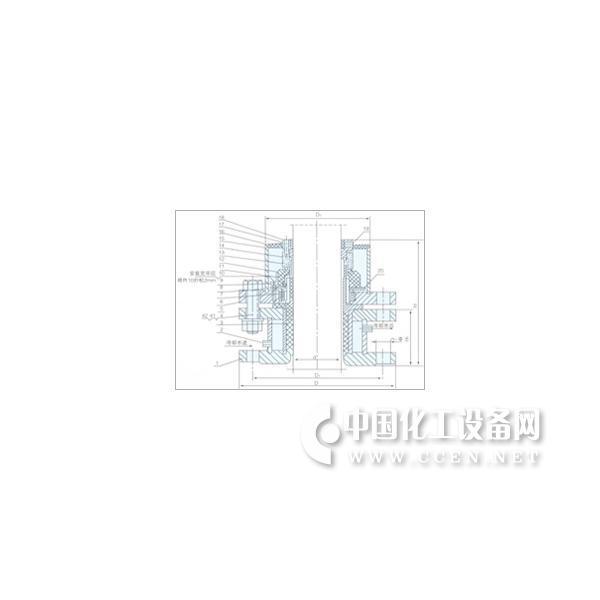 FMY-212型搪玻璃釜用机械密封件