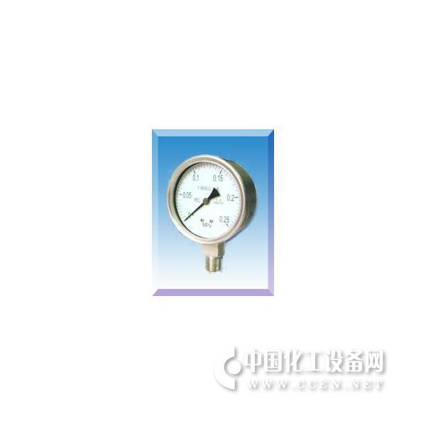 不锈钢压力表Y-60BF Y100BF Y150B