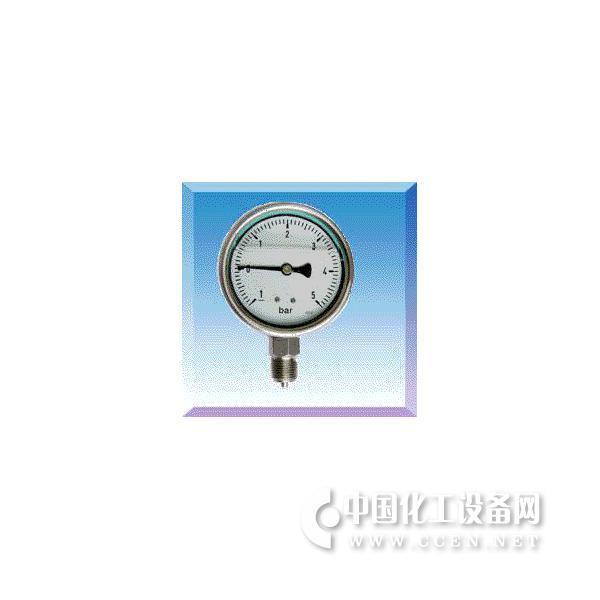 耐震不锈钢真空压力表