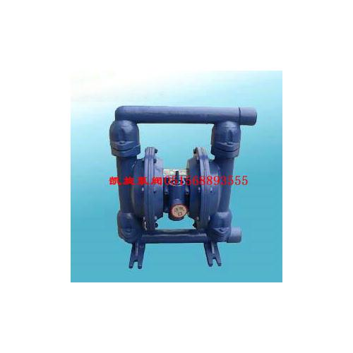 QBY铸铁气动隔膜泵、铸铁四氟气动隔膜泵