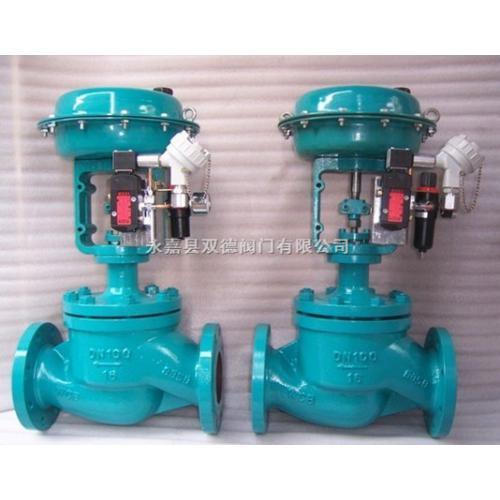 精小型气动薄膜套筒调节阀(zjhm)图片