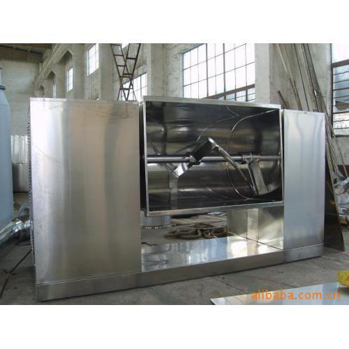 中药材原料-湿料制粒搅拌混合机-混粉设备-CH200槽形