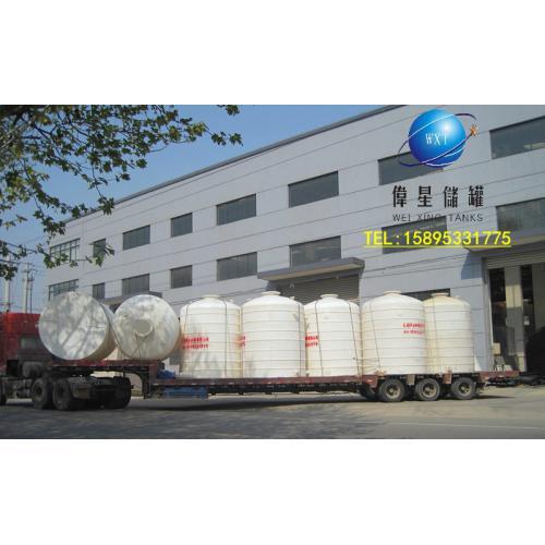 30吨立式聚乙烯储罐,30立方塑胶储槽,30立贮罐,50立方