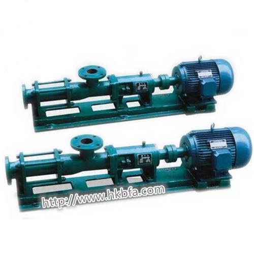 G型螺杆泵(浓浆泵)