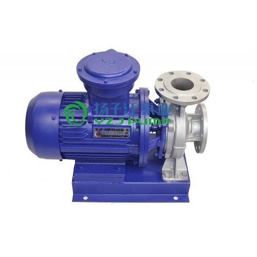 供應離心泵廠家:ISW型防爆不銹鋼臥式管道泵|不銹鋼單級離心泵