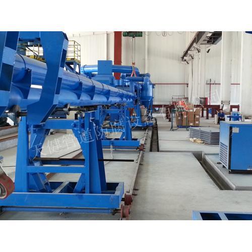 管道内喷环氧粉末、外三层PE防腐生产线