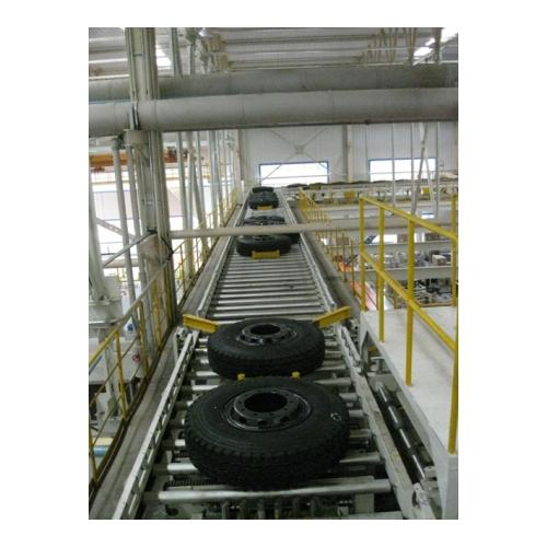 轮胎输送线 滚筒线 托盘输送线 重负荷线