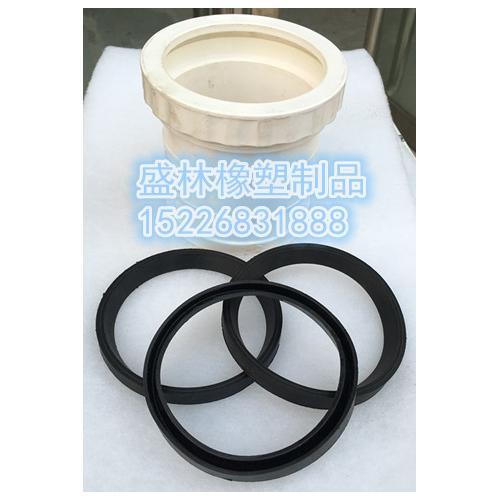 PVC排水管件橡膠密封圈