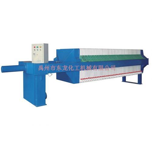 隔膜厢式压滤机工作流程