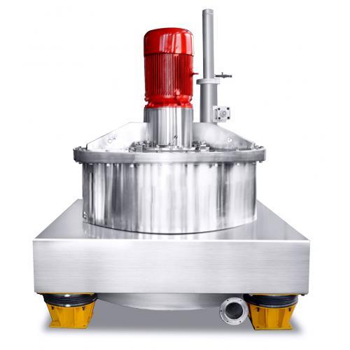 PAUT/AUT上悬式刮刀下部卸料自动离心机
