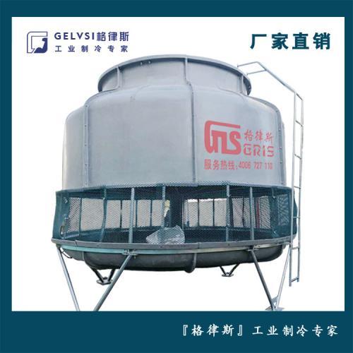 100T逆流式冷水塔 工业玻璃钢冷却塔