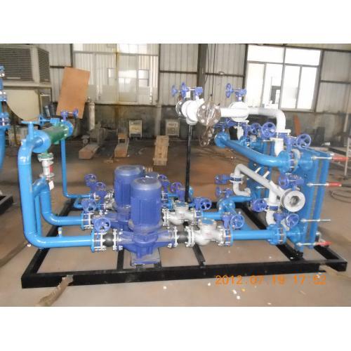 高温蒸汽型板式换热机组