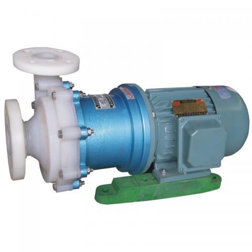 新安江CQB耐腐蚀氟塑料磁力泵 磁力驱动离心泵 防爆磁力泵