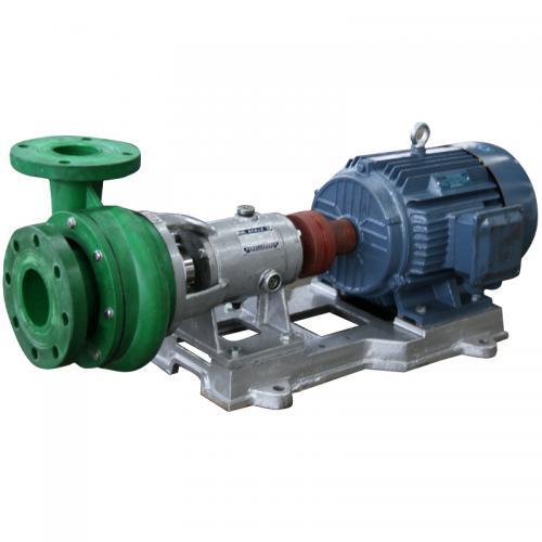 FV/FP偏氟增强聚丙烯耐腐离心泵 联接式节能防爆泵