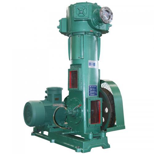 WLW立式无油真空泵 尾气回收耐腐不锈钢真空泵 化工真空泵