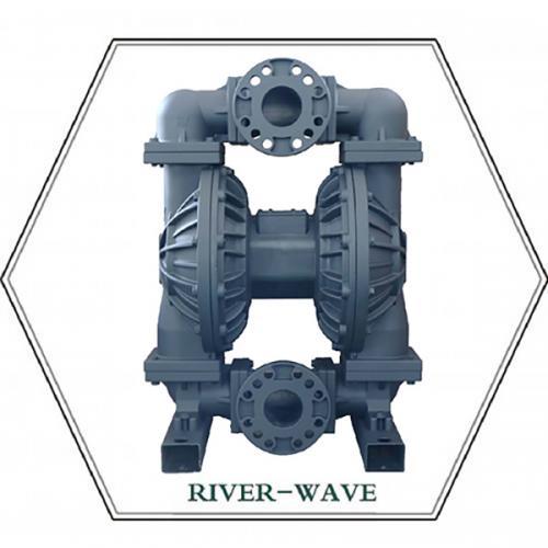 RV80 新款中间进出口铝合金隔膜泵