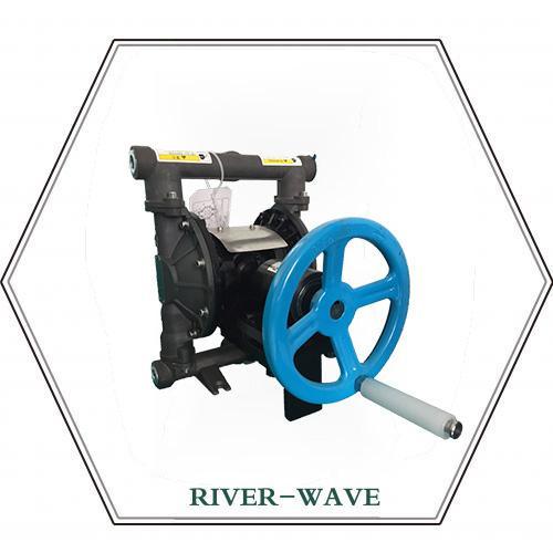 RV40铸铁手动隔膜泵
