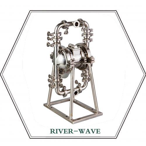 RV卫生级气动隔膜泵