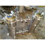 并聯單袋式過濾器,雙聯切換袋式過濾器 [上海雙啟流體分離技術有限公司 021-67150618]